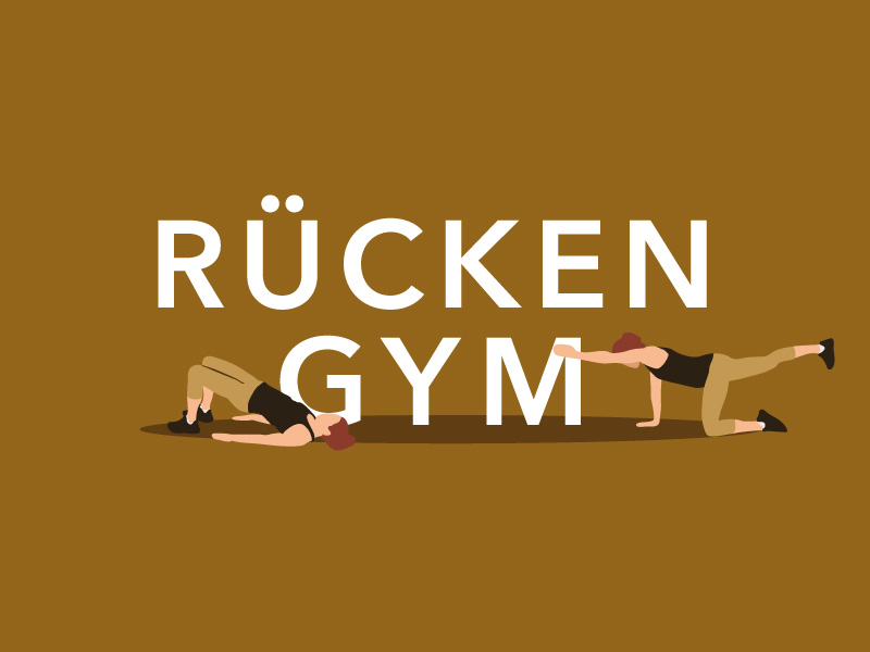 Rücken Gym Training für zuhause | Chrystal Gym Video