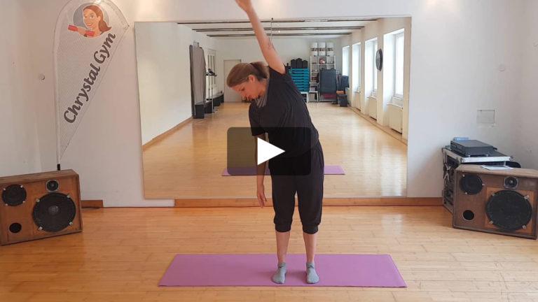 Stretching nach einem Workout bzw. für bereits erwärmte Muskulatur