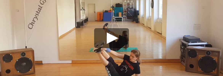 Figur Gym 11 Ein Workout für die Bauchmuskeln